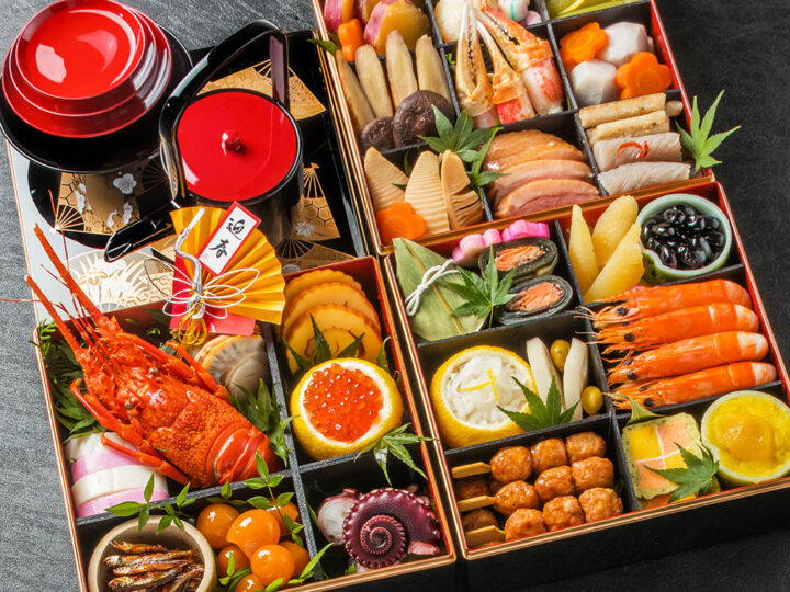 """Special new year's day foods """"Osechi ryori"""" in Japan"""