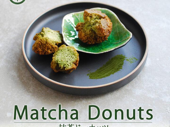 """Huisgemaakte """"Matcha Donuts"""" is verkrijgbaar bij SHOKUDO!"""