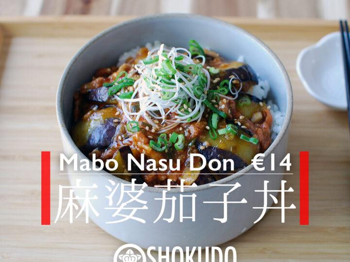 Mabo Nasu Don – Heerlijke vegan pittige maaltijd!